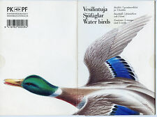 Finland Stamps and Cards Official Booklet Water Birds 1993 High Condition !!!