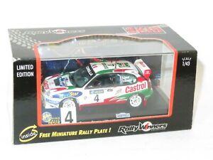 1/43 Toyota Corolla WRC Castrol  Winner China Rally 1999 #4 D.Auriol