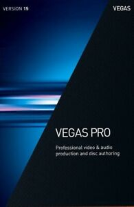 Vegas Pro 15 Magix - Windows DVD Version / Video Editing Software