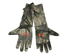 Under Armour ColdGear Camo Liner Gloves Men's Large Mossy Oak/Treestand 1203060