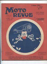 Moto Revue N°397  ; 18  octobre 1930  : Avant le salon de la moto / P.Martin 350