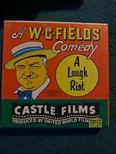 "W.C. FIELDS COMEDY ""A LAUGH RIOT"" SUPER 8 B&W Not Tested!!"