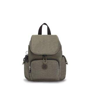 Kipling Backpack CITY PACK MINI Small in GREEN MOSS RRP £77