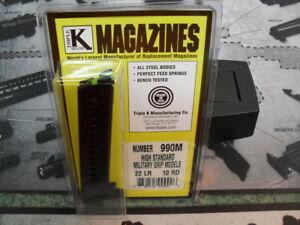 Triple K #990M High Standard - Military Grip Models
