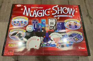 Ideal 100-Trick Spectacular Magic Show Suitcase - New Sealed