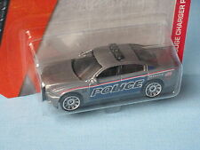 Matchbox Dodge Charger Police Car Silver Toy Model car 70mm in BP