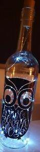 Battery led bottle light owl 🦉