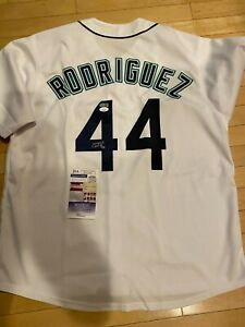 Julio Rodriguez Seattle Mariners Auto Signed Autograph Custom Jersey JSA Cert