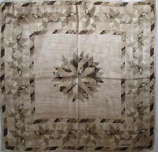 -Superbe Foulard  ESCADA    100% soie  TBEG  vintage scarf  87 x 90 cm