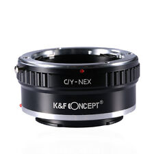 K&F Concept Adapter for Contax /Yashica C/Y Mount Lens to Sony E Mount NEX