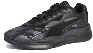 Puma RS-Pure The Hundreds 37138101 Mens Black Low Top  Sneakers Shoes limited