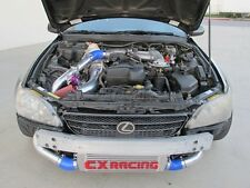 Turbo Intercooler Kit Manifold Downpipe For 98-05 Lexus IS300 2JZ-GE NA-T Blue