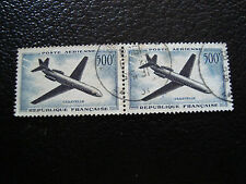 FRANCE - timbre yvert et tellier aerien n° 36 x2 obl (A5) stamp french