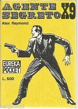 EUREKA POCKET #  4 - ALEX RAYMOND - AGENTE SEGRETO X 9- 1a EDIZIONE-MARZO1969