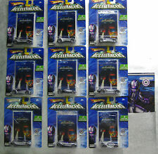 ACCELERACERS Hot Wheels COMPLETE SET- 9 SILENCERZ 1st Ed.- New In Box FREE SHIP