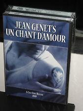 Un Chant D'Amour (DVD) Jean Genet, Andr Reybas, Lucien Senemaud, BRAND NEW!