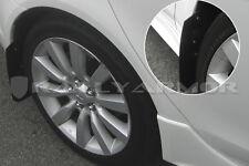 Rally Armor 07- 15 Mitsubishi Lancer ES DE GTS Basic Mud Flaps Kit w/ BLACK Logo