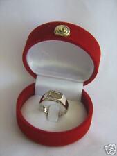 5 Metals Kabbalah Ring Good Fortune  WHITE GOLD 14k size 9.5