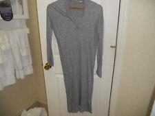 NWOT Humanoid ~ Art To Wear ~ Lagenlook ~ Hthr Gray Tunic Dress Layering Piece