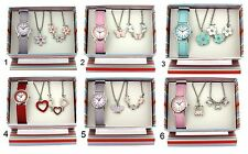 Watch & Jewellery The Olivia Collection Girls Children's Xmas Gift Set For Kids