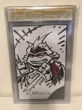 Ninja Turtles Color Classic V3 #9 CGC 9.8 SIGNED SKETCH Kevin Eastman IDW 2015