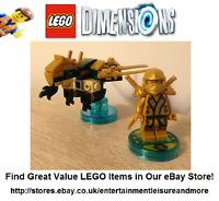Genuine LEGO Dimensions Ninjago Lloyd Fun Pack 71239 -- Pack Complete --