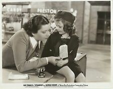 "KAY FRANCIS & JOAN GAY in ""Stranded"" Original Vintage Photograph 1935"