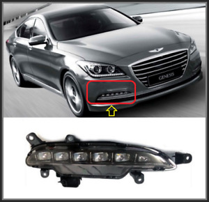 OEM Genuine LED Fog Light Lamp RH Fits Hyundai Genesis Sedan [15~16] 92202B1000