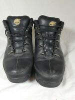 Mens black timberland boots size 10- Excellent Condition