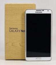 USED - Samsung Galaxy Note 3 White SM-N900 N9000 (FACTORY UNLOCKED) 32GB