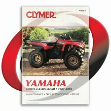 Yamaha YFM400FWN Big Bear 4x4 ,YFM400N Big Bear, CLYMER REPAIR MANUAL Fits SRA