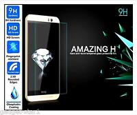 Genuine 100% TEMPERED GLASS Film Invisible Screen Protector For HTC One M8