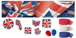 Best Of British Union Jack Party Decorations Supplies Royal Baby Royal Wedding