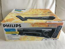 PHILIPS vr210 VHS-video recorder NUOVO in OVP NEW, 2 ANNI GARANZIA