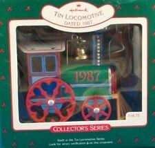 Hallmark Christmas Ornament - TIN LOCOMOTIVE