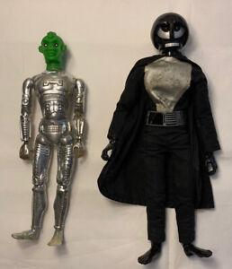 Zem21 Knight Ideal Star Team Vintage 1977 Star Wars Knock Off Action Figure Lot