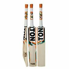 SS TON Gutsy English Willow Cricket BAT Full Size Thick Edges Curved Blade