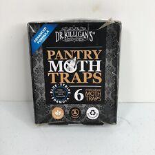 6 Dr. Killigan's Premium Pantry Moth Traps With Pheromones Prime Safe Non-Toxic