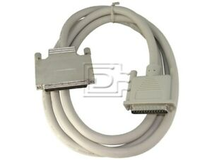 External HD68 male to DB25 male SCSI Cable - LVD U320 - 2 meter / 6 ft