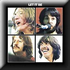 The Beatles Let It Be Album LP CD Cover Pin Badge Metal Gift Idea Lapel