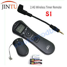 JINTU Wireless Timer Remote Shutter for SONY A100 A200 A300 A350 A700 A900 A850