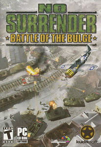 NO SURRENDER Battle of the Bulge Strategic PC Game NEW