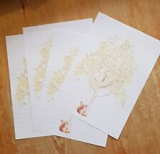 The Tree Squirrel Letter Writing Paper & Envelopes Stationery Set