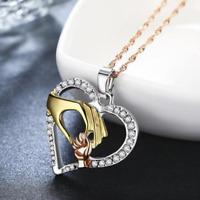 Libelle Anhänger Damen Emaille Halskette Versilbert Neu Auge Fänger