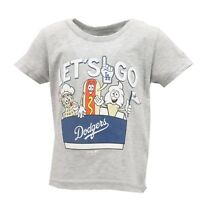 Los Angeles Dodgers Official MLB Genuine Infant Toddler Size T-Shirt New NO Tags