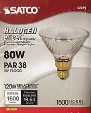 SATCO 80-Watt/120-Watt PAR38 Halogen/Xenon Flood Light - 1600 Lumens - NEW