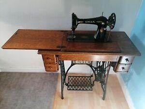 Vintage Singer Treadle sewing Machine Table
