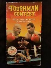 The Toughman Contest Sixty Savage Minutes of Raging Fury VHS - 1995 - Butterbean