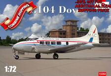 "Amodel 72294 DH-104 Dove "" MAC - Martin's Air Charter "" plastic model kit 1/72"