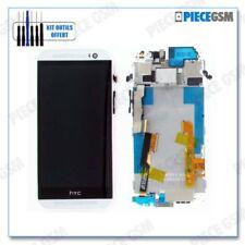 ECRAN LCD + VITRE TACTILE + FRAME  pour HTC ONE M8 GRIS CLAIR + outils